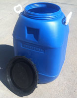 15 gallon food grade barrel