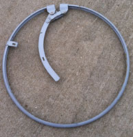 metal barrel and drum locking rings